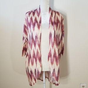 Maurices | chevron pattern lightweight cardigan